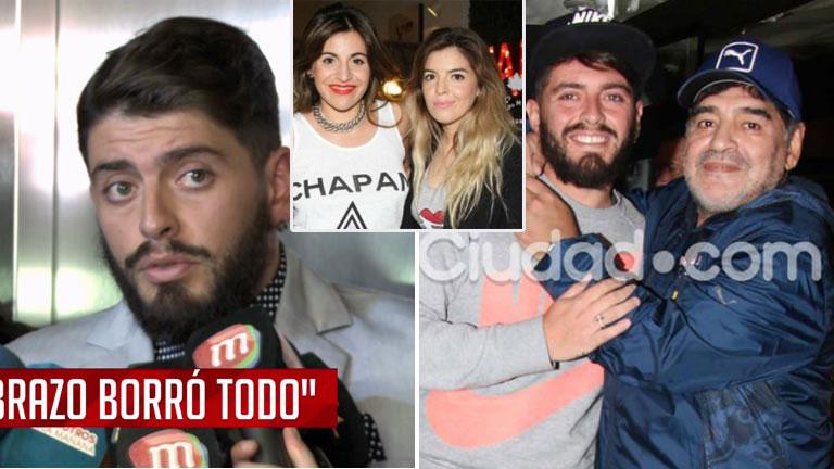 Diego Junior contó cómo se gestó su encuentro con Maradona y habló de sus hermanas