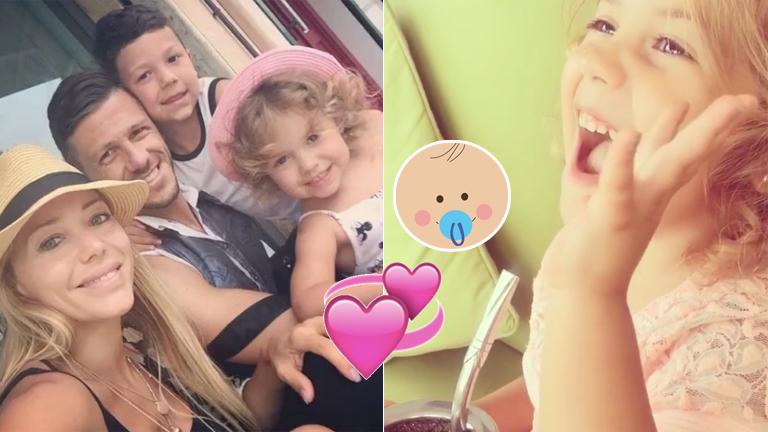 El tierno video con el que Anderson y Demichelis confirmaron que serán padres por tercera vez: