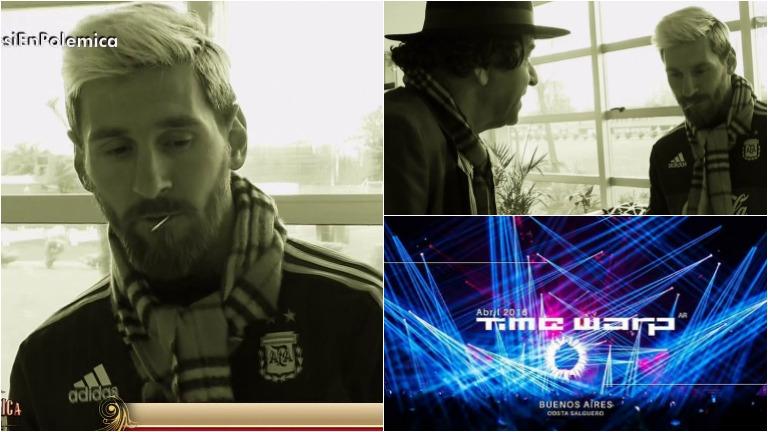 Lionel Messi habló en Polémica en el bar sobre cómo lo conmovió la tragedia de Time Warp
