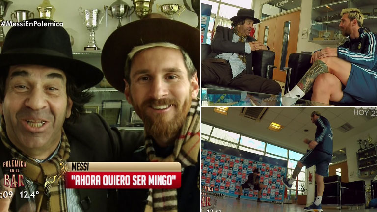 El encuentro de Messi con Minguito: confesiones del día que renunció a la Selección, su vida familiar en Barcelona y mucho más