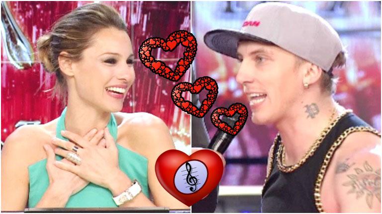 El Polaco le declaró su amor a Pampita en Bailando 2016