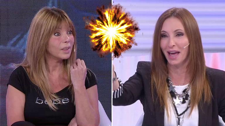 """El insólito reclamo en vivo de Analía Franchín a Adriana Brodsky: """"¡Vos me robaste un novio!"""""""