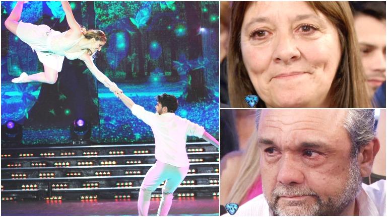 Agustín de Márama emocionó a sus papás en el Bailando