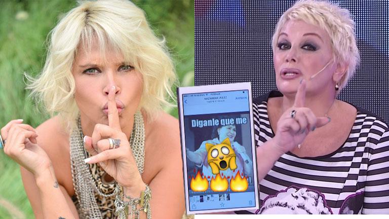 Nazarena Vélez le envió un escandaloso mensaje a Carmen en vivo