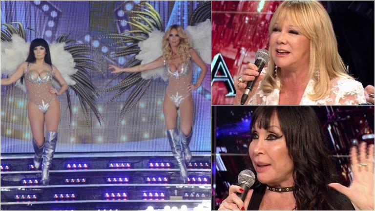 Sabrina Rojas les rindió un homenaje a Moria y Susana en el ritmo libre de ShowMatch