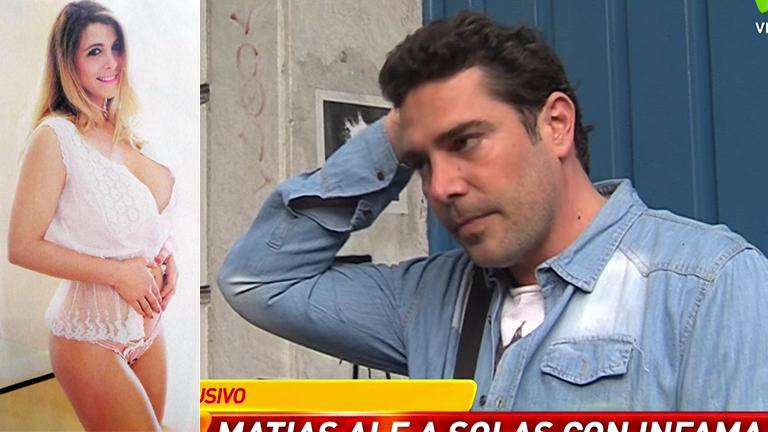 Matías Alé contó cómo fue el momento en el que le contaron que podría ser papá
