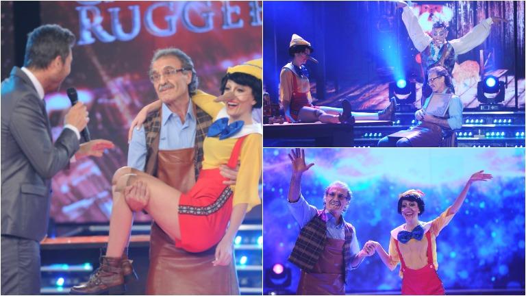 Oscar y Cande Ruggeri emocionaron con su ritmo libre en ShowMatch