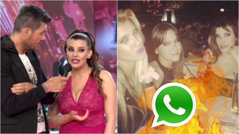 Charlotte Caniggia contó en ShowMatch por qué bloqueó a Barbie Vélez y Cande Ruggeri de WhatsApp