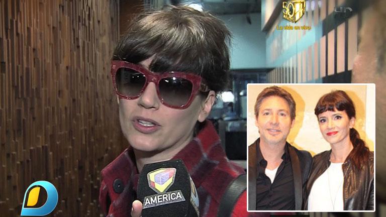 Griselda Siciliani habló de su separación de Adrián Suar