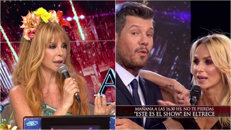 Picante cruce entre Graciela Alfano y Sabrina Rojas en ShowMatch