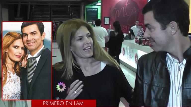 Isabel Macedo y Juan Manuel Urtubey en su primera nota de casados