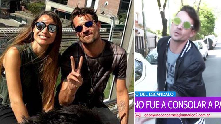 Chano fue a consolar a Pampita a su casa, tras el escándalo de Bailando 2016: detalles de su estrecha amistad