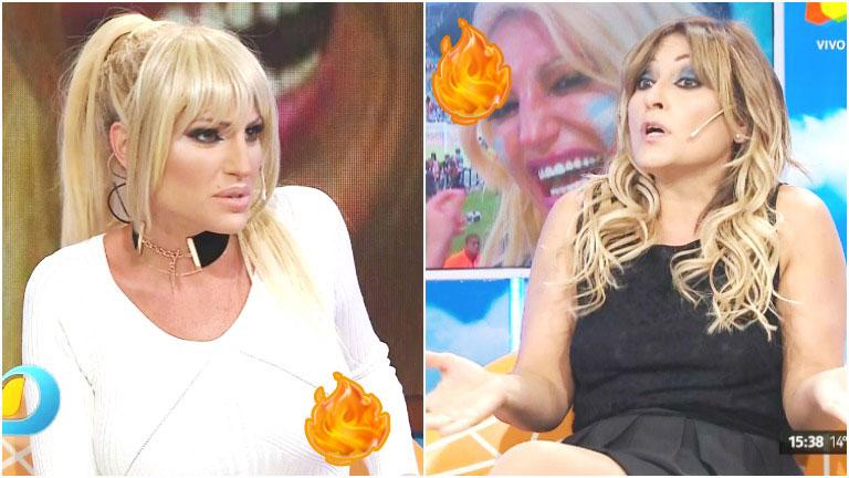 Fuerte cruce entre Vicky Xipolitakis y Marcela Tauro en Intrusos