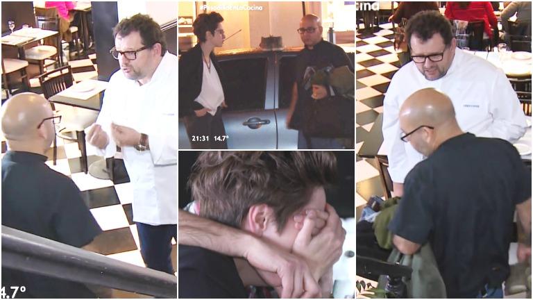 Así fue el comienzo de Pesadilla en la cocina con Christophe Krywonis