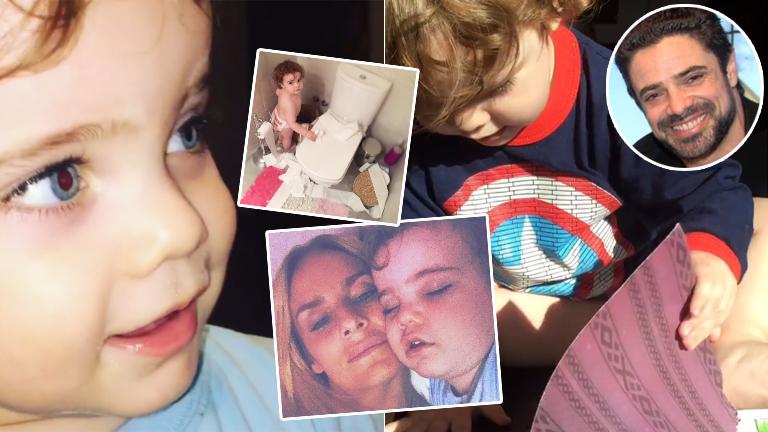 Los videos súper tiernos del hijo de Sabrina Rojas y Luciano Castro