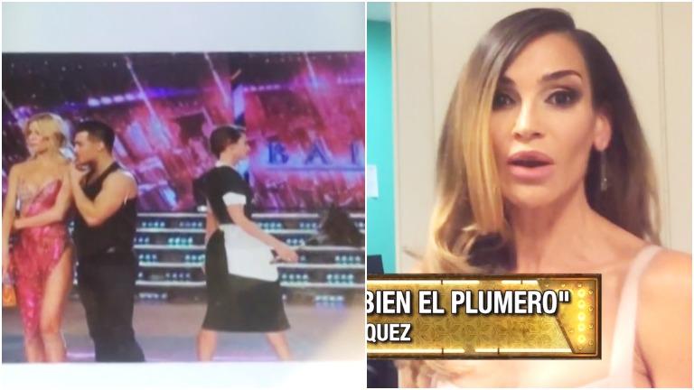 La reacción de María Vázquez cuando le mostraron un foto trucada de Pampita vestida de mucama