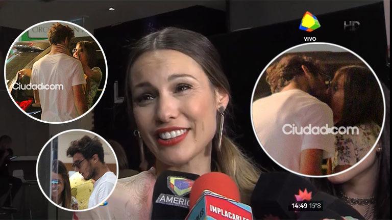 Pampita habló de su relación con Pico Mónaco