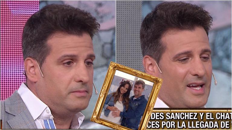 La emoción de José María Listorti en Este es el show por el nacimiento del hijo del Chato Prada y Lourdes Sánchez