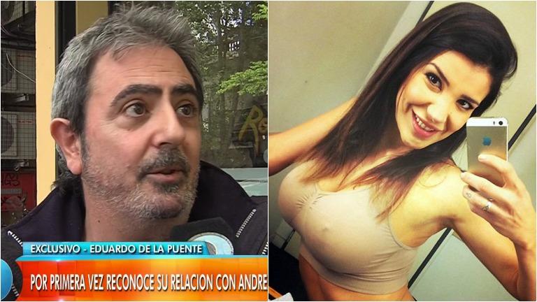 Eduardo de la Puente reconoció en Intrusos un breve romance con Andrea Rincón: