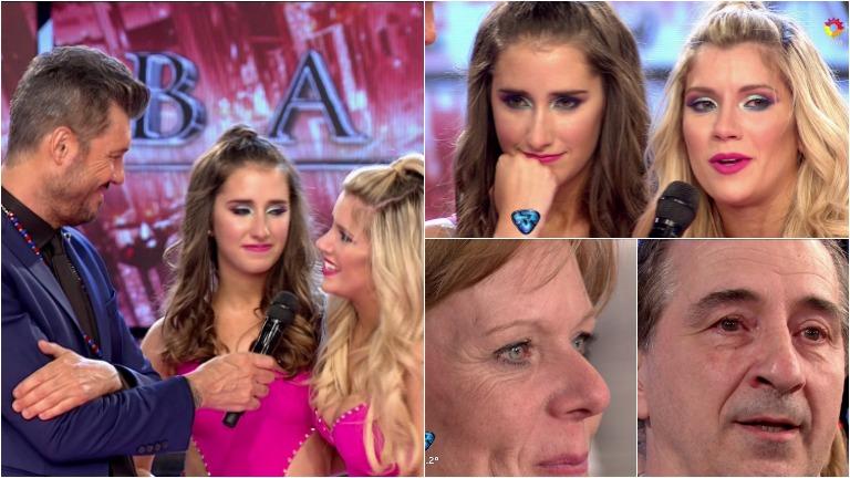 La emoción de Laurita Fernández y su hermana Gabriela al bailar en ShowMatch