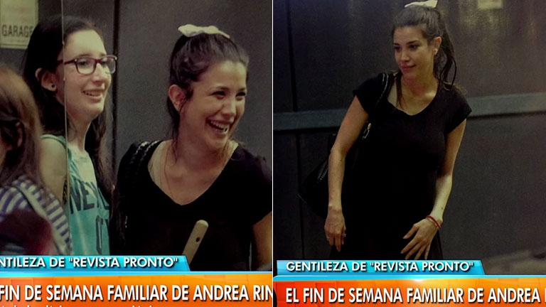 Las fotos de la primera salida ambulatoria de Andrea Rincón tras internarse en una clínica psiquiátrica