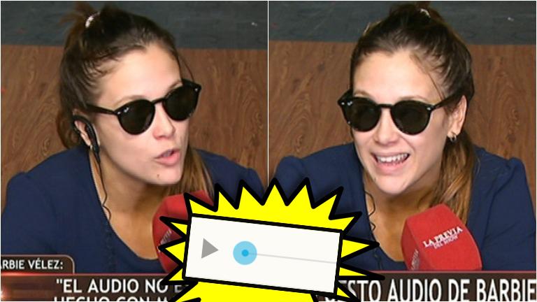 Barbie Vélez habló sobre el polémico audio que se le adjudica: