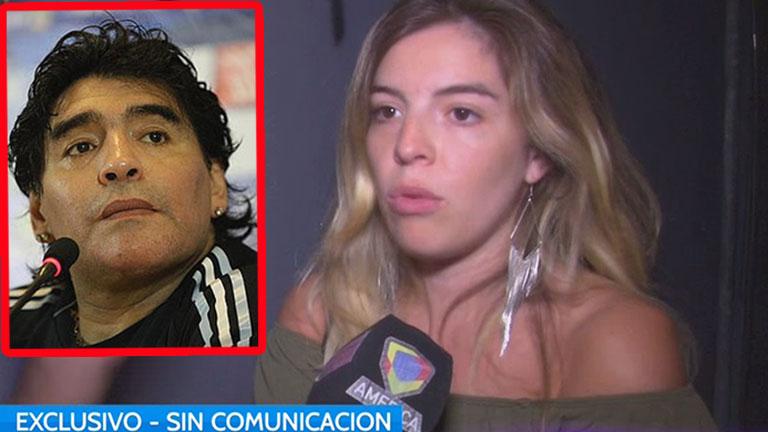 Dalma, distanciada y sin comunicación con Maradona: