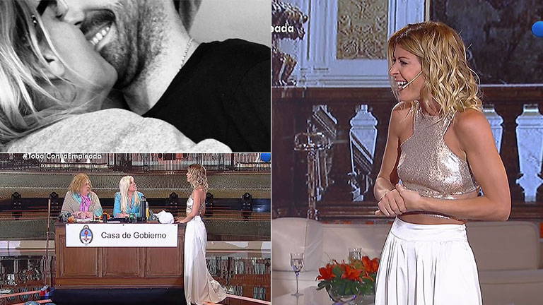Eugenia Tobal estuvo con Susana Giménez y habló de su misterioso novio: