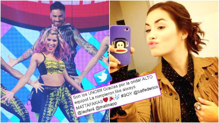 La reacción de Lali Espósito luego de que criticaran su tema en la zumba de Fede Bal en el Bailando