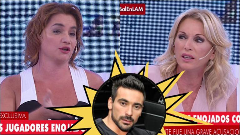 Yanina Latorre se cruzó con Nancy Pazos en Los Ángeles de la mañana por la acusación de que el Pocho Lavezzi había fumado un porro
