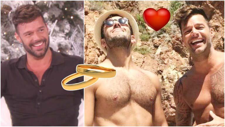 Ricky Martin se comprometió con su novio, Jwan Yosef