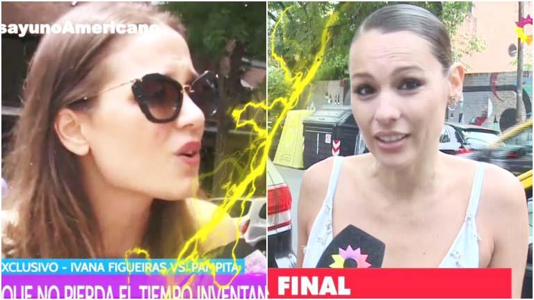 La tristeza de Pampita con Ivana Figueiras