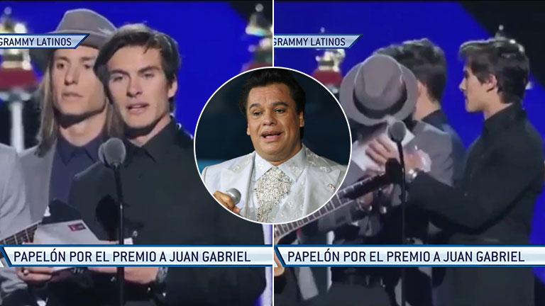Tremendo error en la entrega de los Grammy Latinos: anunciaron un premio para Juan Gabriel como si estuviera vivo