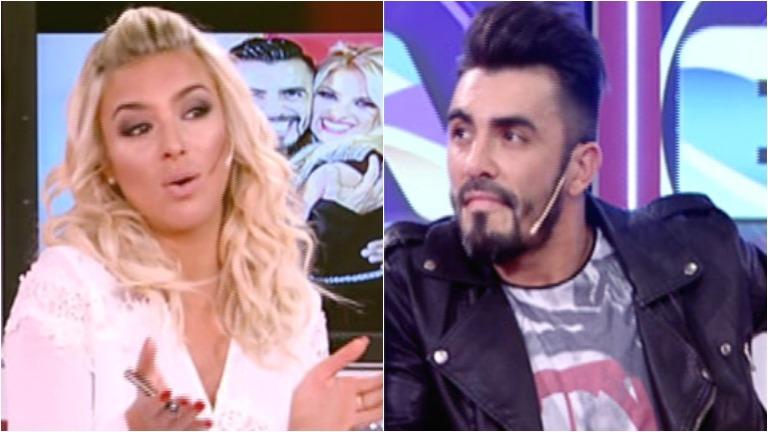 El desplante de Fernando Bertona a Ailén Bechara: se negó a saludar a su ex en el vivo de un ciclo