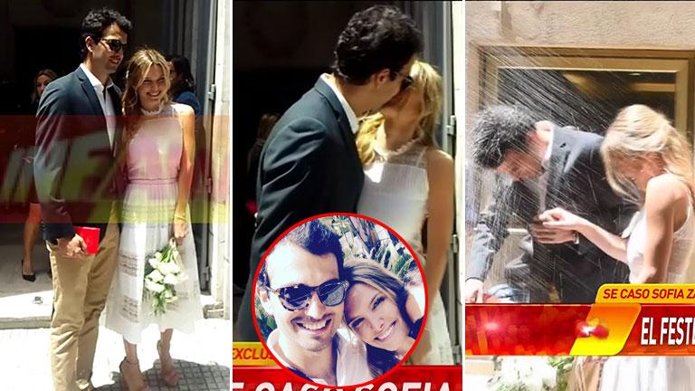 Sofía Zámolo se casó con Joe Uriburi en una ceremonia súper secreta