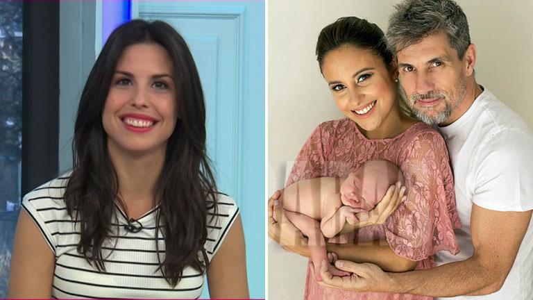 Florencia Prada elogió a Lourdes Sánchez como madre de su hermanito
