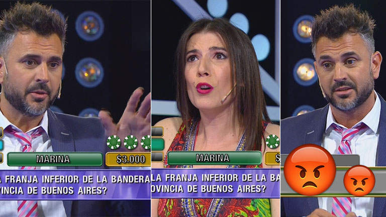 ¡Momento súper incómodo! Leo Montero se enojó en vivo con una participante de La ruleta del saber:  conocé el motivo