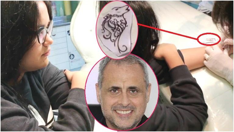 Conocé el primer tatuaje que se hizo Morena Rial