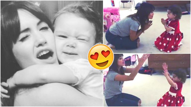 El tierno video de Lali Espósito cantando y bailando con la hija de Pedro y Paula Chaves