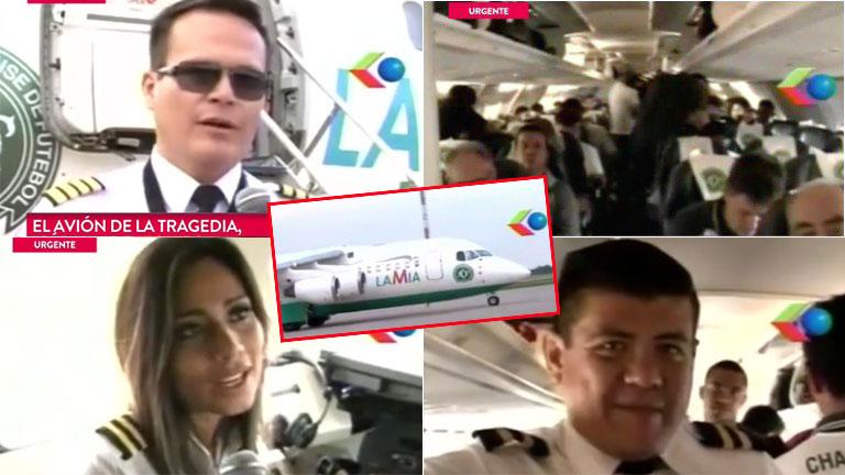 El último video del avión de la tragedia de Chapecoense, minutos antes de despegar