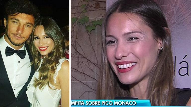 Pampita y el vínculo de Pico Mónaco con sus hijos: