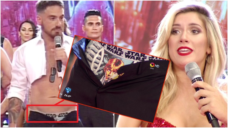 El particular diseño de los calzoncillos de Fede Bal que desaprobó Laurita Fernández en ShowMatch