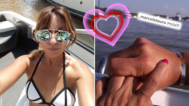 ¡Tiene novio! Marcela Tauro y la enigmática foto de un nuevo amor: el romántico detalle
