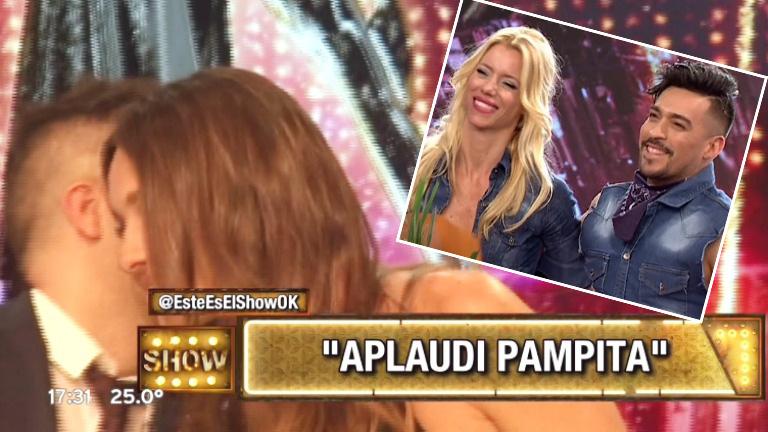 El secreto de Ángel de Brito a Pampita tras la eliminación de Nicole Neumann del Bailando