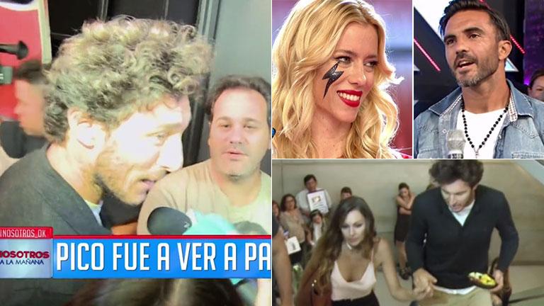 Pico Mónaco, tras la propuesta de Fabián Cubero de reunir a Pampita y Nicole Neumann en una cena: