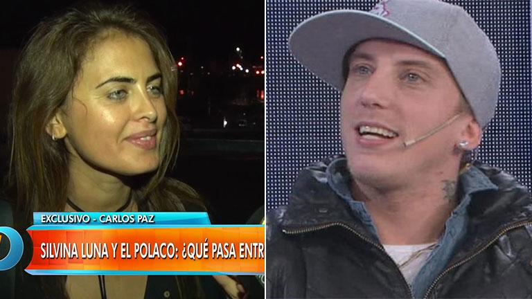 Silvina Luna y el rumor de romance con El Polaco: