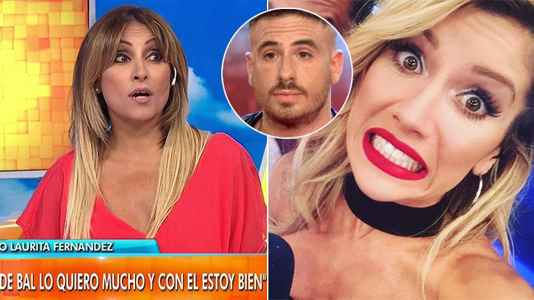 Marcela Tauro opinó sobre la reacción de Laurita Fernández tras la confesión de Fede Bal en televisión: