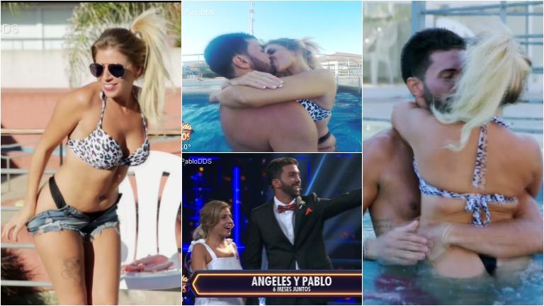 Conocé a Angie y a Pablo, la pareja más hot de Despedida de solteros