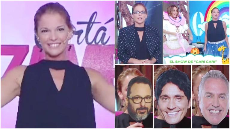 El divertido momento de Carina Zampini en el debut de Cortá por Lozano