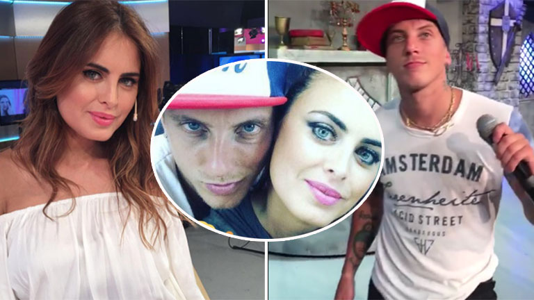 ¡Lo dijo! El Polaco confirmó su noviazgo con Silvina Luna: